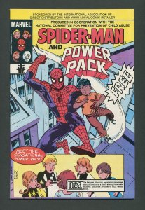 Spiderman Power Pack Child Abuse Promo / 8.0 VFN   1984