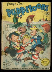 GEORGE PAL'S PUPPETOONS #9 1947-FAWCETT CARTOON SERIES G