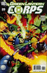 DC GREEN LANTERN CORPS (2006 Series) #26 VF