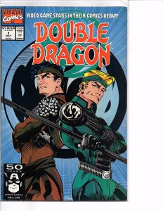 Marvel Comics Double Dragon #1 Video Game Comics Debut 1st App. NM Larry Stroman