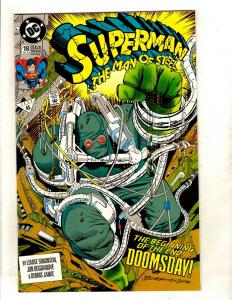 Superman The Man Of Steel # 18 NM DC Comic Book Doomsday Justice League JF15