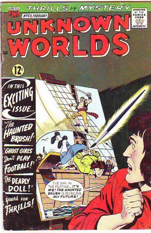 Unknown Worlds #53 (Feb-66) FN Mid-Grade
