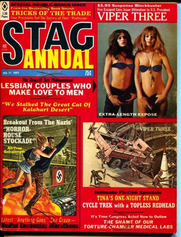 Stag Annual-1971-Pussycat-Torture-WWII-Sex-Adventure