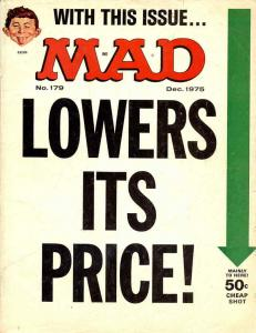 Mad #179 VG; E.C | low grade comic - save on shipping - details inside