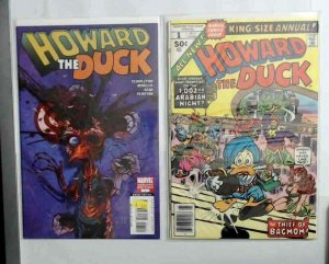 Estate Sale COMIC Lot Howard the Duck with Variant 1-33 Spiderman Bonus Included