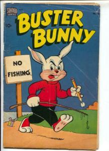 Buster Bunny #10 1951-Standard-funny animals-fishing cover-VG-