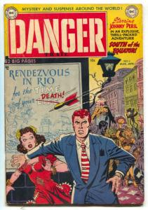Danger Trail #5 1951- Johnny Peril- LAST ISSUE FN-
