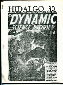Hidalgo 30 1994-pulp fanzine-Dynamic Science Stories index-Weird Tales-FN
