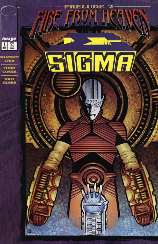 Sigma #1 VF/NM; Image   save on shipping - details inside