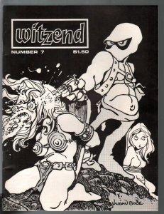 Witzend #7 1970-Vaughn Bode-Steve Ditko-Berni Wrightson-Gray Morrow-VF