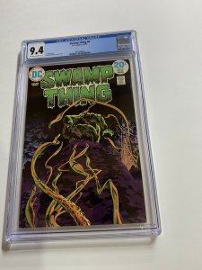 Swamp Thing 8 Cgc 9.4 Ow/w Pages Dc Bronze Age 2042366003