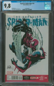 Surperior Spider-Man #18 CGC Graded 9.8