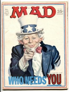 Mad-Magazine #126 1969- UNCLE SAME COVER
