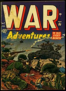 War Adventures #7 1952- Atlas Comics- Maneely- Russ Heath- Romita G-