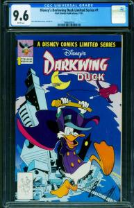 Disney's Darkwing Duck Limited Series #1 CGC 9.6 First issue 1998430013