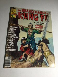 The Deadly Hands Of Kung Fu 25 Nm- Near Mint- Magazine