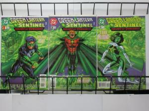GREEN LANTERN/SENTINEL: HEART OF DARKNESS (DC,1998) #1-3 Kyle Rayner/Alan Scott