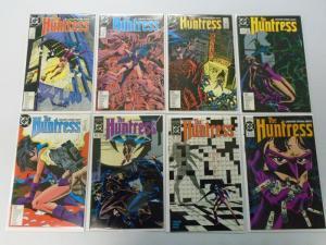 Huntress (1st Series) Set:#2-15, 8.5/VF+ (1989+1990)