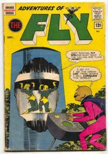 Adventures Of The Fly #23 1962- Archie comics VG-