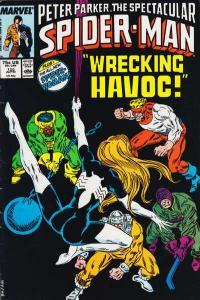 Spectacular Spider-Man (1976 series) #125, NM- (Stock photo)