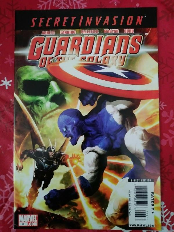 Guardians of the Galaxy #6 (Dec 2008, Marvel)