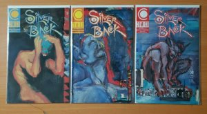 Silver Back 1-3 Complete Set Run! ~ NEAR MINT NM ~ 1989 Comico Comics Gendel