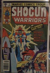 Shogun Warriors #4 FN+