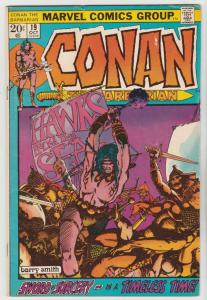 Conan the Barbarian #19 (Oct-72) VF High-Grade Conan the Barbarian