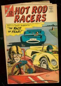 HOT ROD RACERS #11 1966-CHARLTON COMICS-JACK KELLER VG