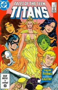 Tales of the Teen Titans #66 FN; DC | save on shipping - details inside