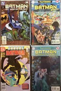 BATMAN DC ANNUALS 2 BATMAN #11,21 2 SHADOW OF THE BAT #4,5 NM 4 BOOK LOT
