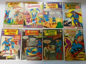 Silver Age Action Comics Lot From:#327-383,19 Different Average 4.0 VG (1965-69)
