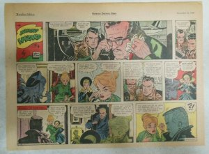 (52) Johnny Hazard Sunday Pages by Frank Robbins from 1961 All 11 x 15 inches !