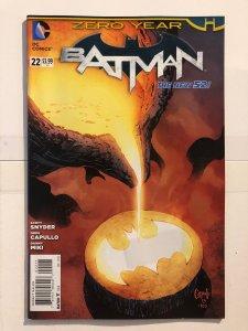 Batman #22 (2011) - Zero Year - New 52