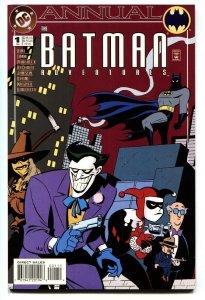 Batman Adventures Annual #1-Third Harley Quinn-DC-1994 comic book