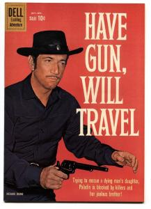 Have Gun Will Travel #7 1960- Dell western File copy- Richard Boone- VF/NM