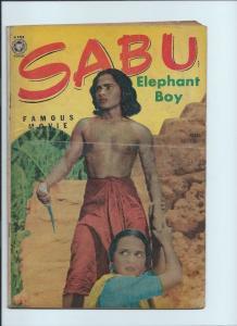 sabu elephant boy 2 1.8 GD- and sabu 30 2.5 GD  2 book lot set run