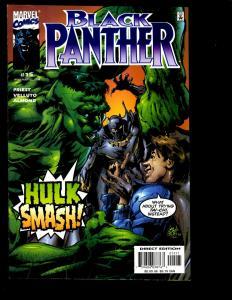 12 Black Panther Marvel Comics 15 16 17 34 35 36 37 38 39 41 43 44 Avengers GK6