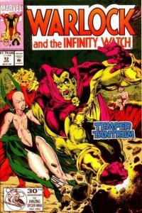 Warlock and the Infinity Watch #12, NM- (Stock photo)