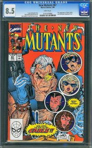 New Mutants #87 (Marvel, 1990) CGC 8.5