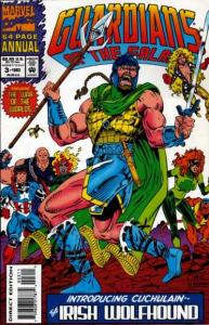 Guardians of the Galaxy (1990 series) Annual #3, NM- (Stock photo)