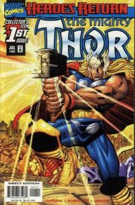 THOR (1998 MARVEL) #1 NM- AGSNRF