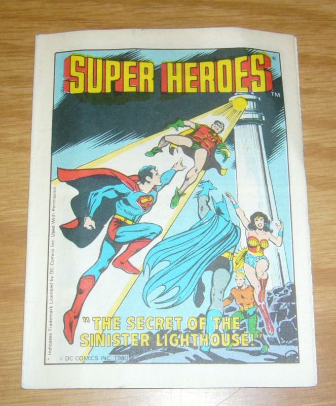dd0557de Super Heroes: the Secret of the Sinister Lighthouse #1 FN justice league  mini / HipComic