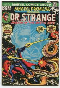 MARVEL PREMIERE #10 (7.5) 1972 Frank Brunner Neal Adams