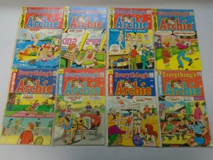 Everything's Archie comic lot 39 different from #27-155 avg 6.0 FN (1973-91)