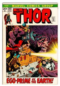 THOR #202 comic book 1972 MARVEL Bronze-Age EGO PRIME
