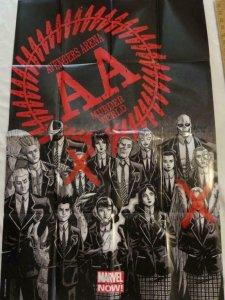 AVENGERS ARENA MURDER WORLD Promo Poster, 24 x 36, 2012, MARVEL, Unused 134