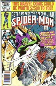 Spider-Man, Peter Parker Spectacular #46 (Sep-81) VF/NM- High-Grade Spider-Man