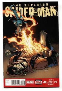 Superior Spider-Man #16 2013 Phil becomes the Goblin Knight comic book