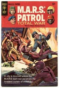 M.A.R.S. Patrol Total War #5 1968 -GOLD KEY FN/VF